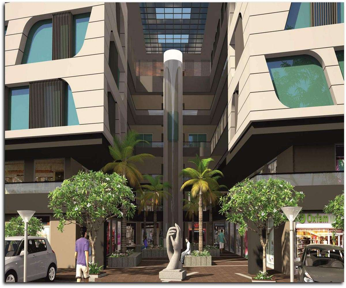 Pramukh Cyprus Shops & Showrooms At Gandhinagar